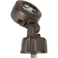 LED Bullet Head Light - 11.2 Watt - 638 Lumens - 3000 Kelvin - IP 65 Rated - Length 2.5 in. - Width 3.94 in. - 120 Volt - 5 Year Warranty - Lithonia OLBS 8 30K DDB M6