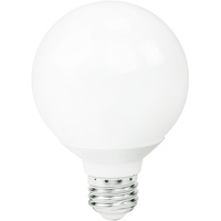 450 Lumens - 6W - 40W Equal - LED G25 Globe - 3.51 in. Diameter - 2700 Kelvin - Frosted - Medium Base - Dimmable - 120V - MaxLite 107505