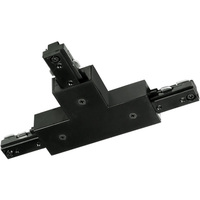 Black - T-Connector - Single Circuit - Compatible with Halo Track - Nora NT-314B