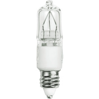 50 Watt - T4 - Mini Candelabra Base - Stage and Studio - 2,000 Life Hours - 120 Volt