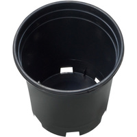 1 Gallon - Premium Nursery Pot - Round Heavy Duty Plant Container - Hydrofarm HG1PHD