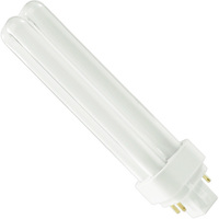 SYLVANIA 20668 - CF18DD/E/841/ECO - 18 Watt - 4 Pin G24q-2 Base - 4100K - CFL
