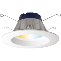 5-6 in. Retrofit Downlight LED Smart Lighting - White Color Adjustable - Compatible ZigBee hub is required to control
