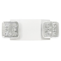 Emergency Light - LED Lamp Heads - 90 Min. Operation - 120/277V - PLT 82201