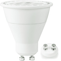500 Lumens - 3000 Kelvin - LED MR16 - 7 Watt - 50W Equal - 40 Deg. Flood - CRI 90 - Dimmable - 120V - GU10 Base - TCP L8GU10MR16D2530KFLCQ
