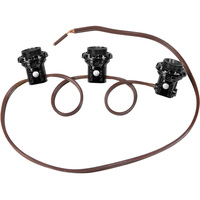 75 Watt - 3 Light Phenolic Candelabra Base Harness Set