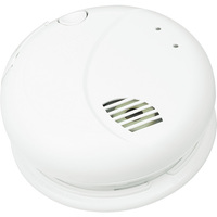 Smoke Alarm - Detects Smoldering Fires - Photoelectric Sensor - Interconnectable - 120 Volt - Battery Backup - BRK 7010B