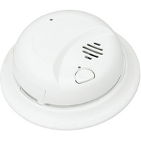 BRK 9120B - Smoke Alarm - Dual Ionization Sensor - Detects Flaming Fires - 120V Wire-in with Battery Backup - Interconnectable