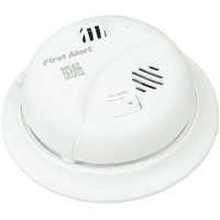 First Alert HD6135FB - Heat Alarm - Microprocessor Temperature Sensing - 120V Wire-in with Battery Backup - Interconnectable