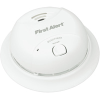 BRK SA350B - Smoke Alarm - Dual Ionization Sensor - Detects Flaming Fires - Battery Operated - Sealed Lithium 10 Year Battery