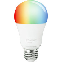 SMART+ Bluetooth A19 - LED Smart Bulb - 10 Watt - RGB and White Color Adjustable - No Hub Required - Works with Apple HomeKit