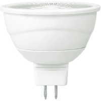 430 Lumens - 2700 Kelvin - LED MR16 - 7 Watt - 50W Equal - 15 Deg. Spot - Color Corrected - Dimmable - 12V - GU5.3 Base