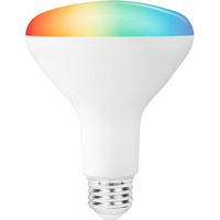 BR30 LED Smart Bulb - RGB and White Color Adjustable - Easy WiFi Setup - No Hub Required - Works with Amazon Alexa and Google Assistant