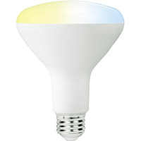 BR30 LED Smart Bulb - White Color Adjustable - Easy WiFi Setup - No Hub Required - Works with Amazon Alexa and Google Assistant