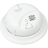 BRK SC9120B - Smoke and Carbon Monoxide Alarm - Dual Ionization Sensor - Detects Flaming Fires and CO Hazard - 120V Wire-in with Battery Backup - Interconnectable