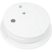 Smoke Alarm - Detects Flaming Fires - Single Sensor - Interconnectable - 120 Volt - Battery Backup - Kidde i12040