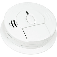 Kidde i12060 - Smoke Alarm - Single Sensor - Detects Flaming Fires - 120V Wire-in with Battery Backup - Front Battery Access - Interconnectable