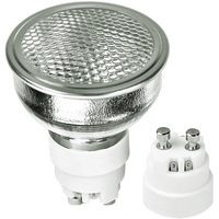 20 Watt - MR16 Narrow Flood - Pulse Start - Metal Halide - Protected Arc Tube - 3000K - ANSI C156 or M156/O - GX10 Base - Universal Burn - CMH20MR16/830/FL - GE 85110