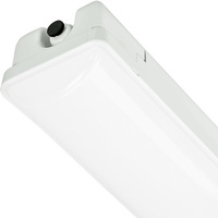 7400 Lumens - 4 ft. LED Vapor Tight Fixture - 56 Watt - 5000 Kelvin - Frosted Lens - IP65 Rated - 120-277V - 5 Year Warranty