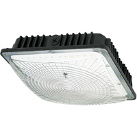 7600 Lumens - LED - Canopy Light - 70 Watt - 72% Less Energy and only 27% Dimmer than 250W MH - 5000 Kelvin - 120-277V - TCP CP7000150