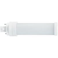 LED G24 PL Lamp - 2-Pin or 4-Pin - 5.5 Watt - Replaces 13W or 18W CFL Lamps - 550 Lumens - 3500 Kelvin - Horizontal Mount Only - Plug and Play or Ballast Bypass