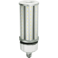 6075 Lumens - 45 Watt - LED Corn Bulb with 4kV Surge Protection  - 175W Metal Halide Equal - 5000 Kelvin - Medium Base - 120-277V - 5 Year Warranty