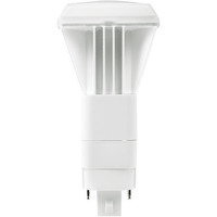LED G24q PL Lamp - 4-Pin - 13 Watt - Replaces 26W CFL Lamps - 1000 Lumens - 3500 Kelvin - Vertical Mount Only - Plug and Play with Compatible Ballast Only