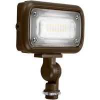 1500 Lumens - 4000 Kelvin - 15 Watt - Mini LED Flood Light Fixture - Landscape and Wall Washer - Height 2.9 in. - Width 4.7 in. - Depth 1.27 in. - 120-277V - 5 Year Warranty - 15% Brighter Than a 50W Metal Halide and Uses 70% Less Energy