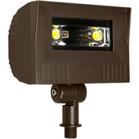 3300 Lumens - 4000 Kelvin - 30 Watt - Mini LED Flood Light Fixture - Landscape and Wall Washer - Height 8.0 in. - Width 6.7 in. - Depth 4 in. - 120-277V - 5 Year Warranty - Equal to a 100W Metal Halide and Uses 70% Less Energy