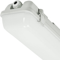 5440 Lumens - 4 ft. LED Vapor Tight Fixture - 40 Watt - 4000 Kelvin - Frosted Lens - IP65 Rated - 120-277V - 5 Year Warranty
