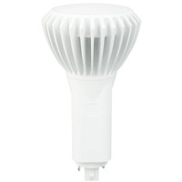 LED G24 PL Lamp - 2-Pin or 4-Pin - 16.5 Watt - Replaces 42W CFL Lamps - 1850 Lumens - 3500 Kelvin - Vertical Mount Only - Ballast Must Be Removed