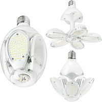 LED Corn Bulb - 45 Watt - 6300 Lumens - 5000 Kelvin - 175-250W Metal Halide Equal - Mogul Base - 120-277V