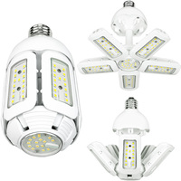3900 Lumens - LED Corn Bulb - Adjustable Beam Angle - 30 Watt - 150W Metal Halide Equal - 5000 Kelvin - Medium Base - 120-277V - Integrated 1kV Surge Protection
