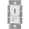 450 Watt Max. - Magnetic Low Voltage Dimmer - Single Pole - Rocker and Slide Switch - White - 120 Volt - Lutron Skylark SLV-600P-WH