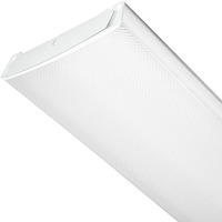 2 ft. LED Wraparound Fixture with Acrylic Lens - 2000 Lumens - 17 Watt - 4000 Kelvin - Length 24 in. x Width 10 in. - Dimmable - 120-277V - Lithonia LBL2LP840