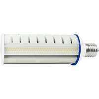 7800 Lumens - 54 Watt - LED Wall Pack Retrofit Lamp - 175W MH Equal - 5000 Kelvin - Extended Mogul Base - Horizontal Mount - Operates by Bypassing Existing Ballast - 120-277V - 5 Year Warranty