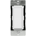 White - Decora Digital Switch with Bluetooth Technology - 3-Way Plus - For Incand, LED, CFL, FL, and Fans - Rocker Switch - 120/277 Volt - Leviton DD0SR-DLZ