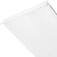 2 Lamp - F32T8 - Fluorescent Wraparound Fixture - Length 48 in. x Width 8.375 in. - 120V - Lamps Sold Separately - 3 Year Warranty - Lithonia SB