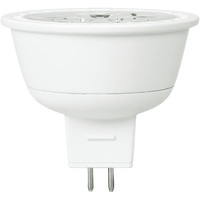 400 Lumens - 2700 Kelvin - LED MR16 - 5 Watt - 35W Equal - 40 Deg. Flood - CRI 82 - Dimmable - 12V - GU5.3 Base - TCP LED512VMR1627KFL