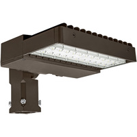 LED Parking Lot Fixture - 75 Watt - 9600 Lumens - 5000 Kelvin - 175 Watt MH Replacement - Comes with Slipfitter Mounting Bracket - 120-277V - LEDF-10100