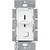 Lutron Skylark SFSQ-LF-WH - 3 Speed Quiet Fan Control and Incandescent Light Switch Thumbnail