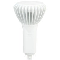 LED G24 PL Lamp - 2-Pin or 4-Pin - 16.5 Watt - Replaces 42W CFL Lamps - 1800 Lumens - 3000 Kelvin - Vertical Mount Only - Ballast Must Be Removed