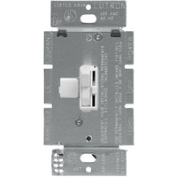 White - 1000 Watt Max. - Incandescent Dimmer - 3-Way - Toggle and Slide Switch - 120 Volt - Lutron Ariadni AY-103P-WH