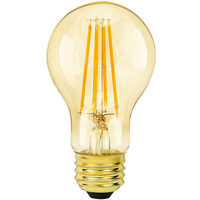 LED Victorian Bulb - 7.5 Watt - 40 Watt Equal - 600 Lumens - 2000 Kelvin - Color Matched for Incandescent Replacement - 120 Volt - Green Creative 98448