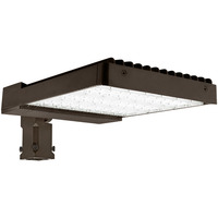 Philips Lumileds - LED Parking Lot Fixture - 220 Watt - 400 Watt MH Replacement - 5000 Kelvin - 26,400 Lumens - Comes with Slipfitter Mounting Bracket - 120-277V - LEDF-10117
