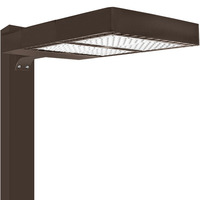 LED Parking Lot Fixture - Type II - 285 Watt - 30,500 Lumens - 5000 Kelvin Replaces 750W MH - Comes with Square Pole/Wall Mounting Bracket - 200-480V - LEDF-10074