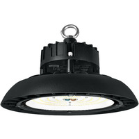 13,000 Lumens - 4000 Kelvin - Color Matches Metal Halide - 100 Watt - LED High Bay - 23% Brighter and 60% Less Energy than a 250W Metal Halide - 120-277V - TCP UFO100D00140