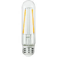 LED T9 Tubular Bulb - 3 Watt - 40 Watt Equal - 300 Lumens - 2700 Kelvin - Medium Base - Incandescent Match - 120 Volt - Bulbrite 776853