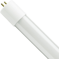 4 ft. LED T8 Tube - Ballast Bypass - 2100 Lumens - 3000 Kelvin - 17 Watt - Double-Ended Power - 120-277 Volt - Case of 25 - Satco S9904
