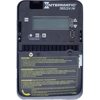 Intermatic ET2115C - 24 Hr. Digital Time Switch - NEMA 1 Indoor Steel Case - 1 Channel - SPDT - 20 Amps - 120-277 VAC